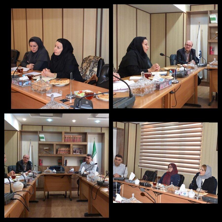 برگزاری نشست هم اندیشی و تبادل نظر بهزیستی و سازمان نظام پزشکی