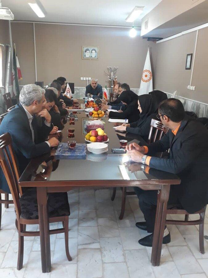 برگزاری جلسه مناسب سازی در آرادان