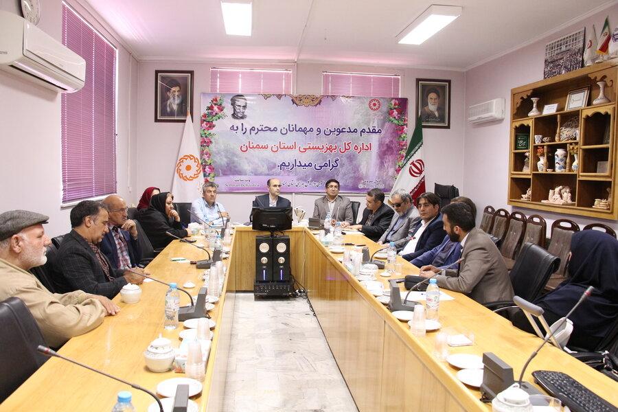 جلسه هم اندیشی نماینده انجمن های فعال استان در حوزه معلولین