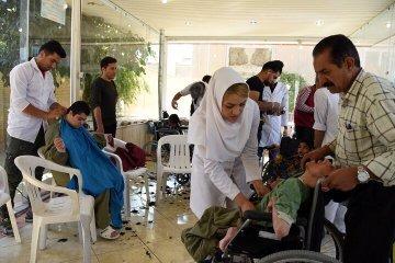 خدماتدهی رایگان آرایشگران به ۲۵۰ معلول ذهنی و حرکتی در شیراز