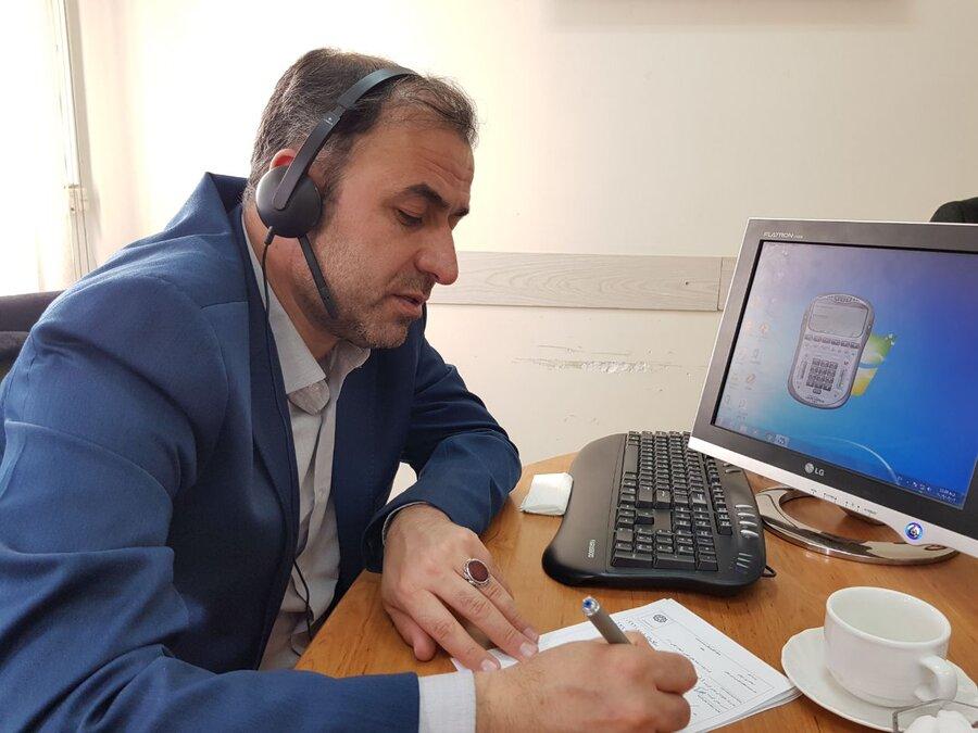 ارتباط تلفنی با مدیر کل بهزیستی استان زنجان از طریق خط 111