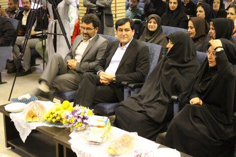 گزارش تصویری | با حضور مدیرکل بهزیستی استان جشن عصای سفید برگزار شد