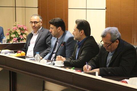 هشتمین جلسه شورای هماهنگی مدیران زیرمجموعه وزارت تعاون، کار و رفاه اجتماعی با حضور وزیر تعاون، کار و رفاه اجتماعی