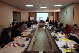گزارش تصویری | برگزاری دوره آموزشی پانسمان های نوین