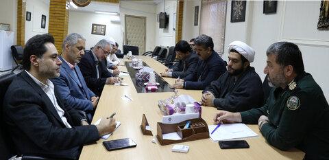 دیدار دکترحسین نحوی نژاد با مدیرکل حفظ نشر و آثار ارزشهای دفاع مقدس