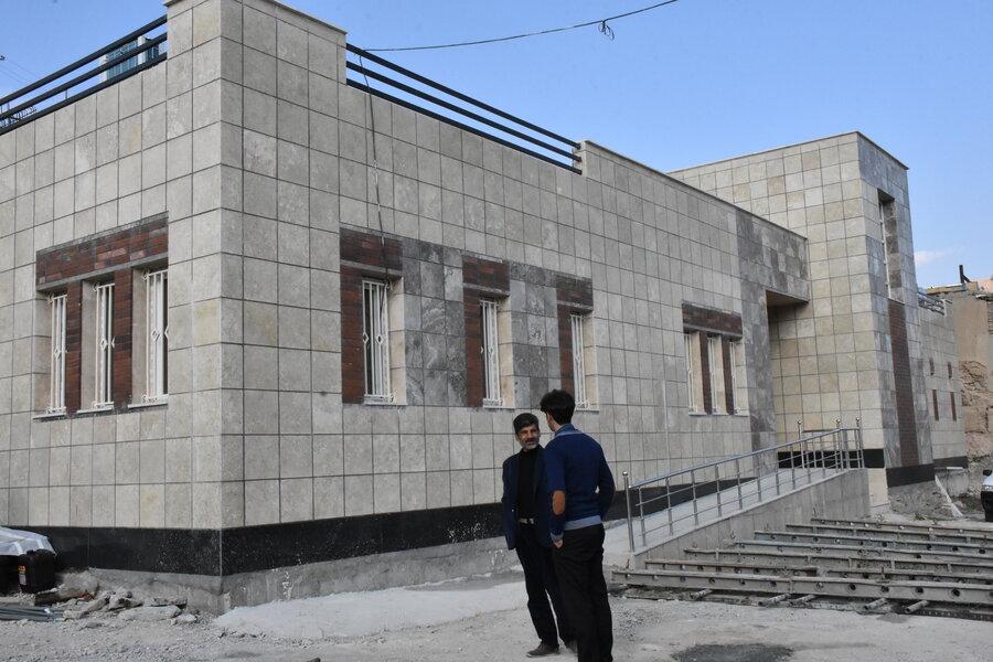 بازدید مدیر کل بهزیستی از مرکز فرهنگی، ورزشی و  اجتماعی در دست احداث منطقه گلسفید