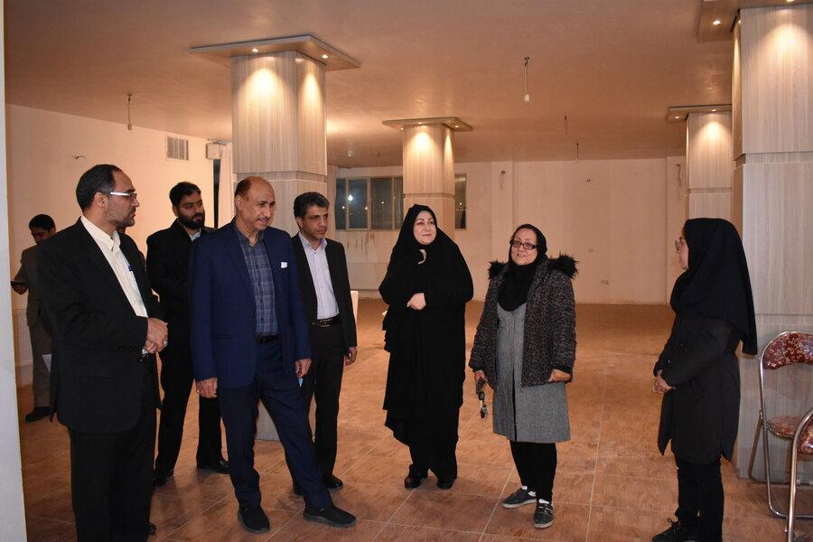 سمنان ا بازدید بازرسین دادستانی کشور از مراکز شهرستان