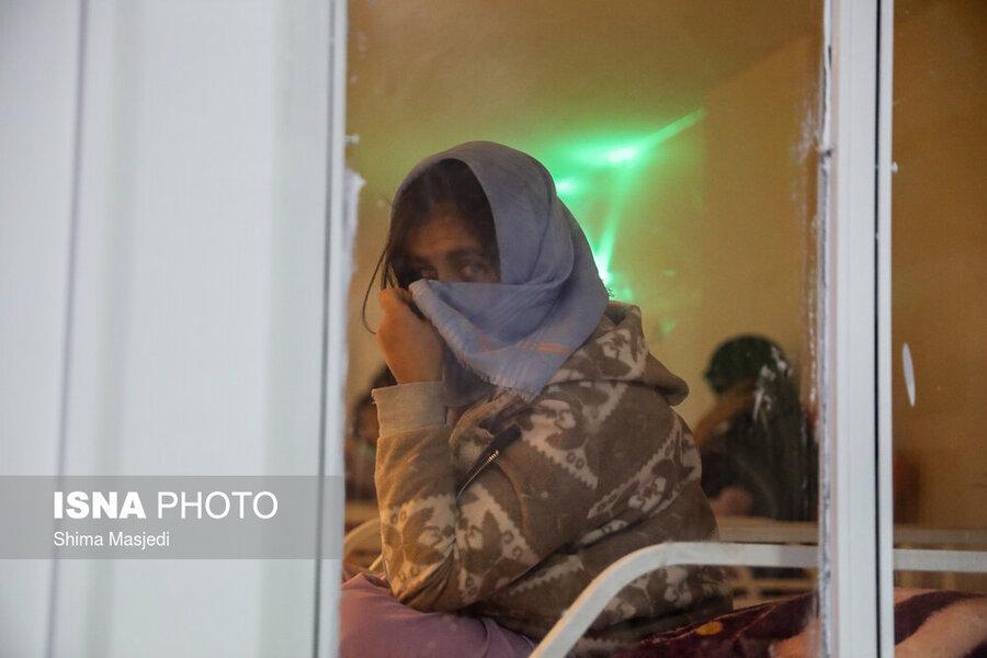 آخرین وضعیت سرویسدهی مرکز شبانه نگهداری از معتادان در فصول سرد سال