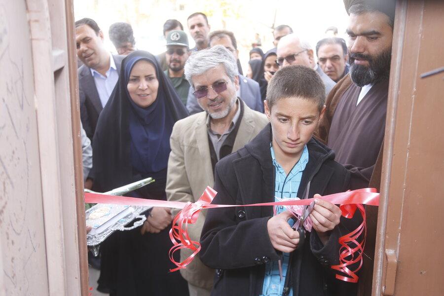نخستین مرکز جامع خدمات اجتماعی استان در روستای چنار محمودی افتتاح شد