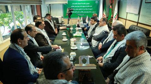 گزارش تصویری| سومین جلسه شورای راهبردی حوزه مقاومت بسیج با حضور دکتر قبادیدانا