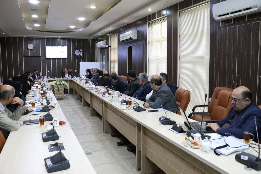 نشست شورای معاونین
