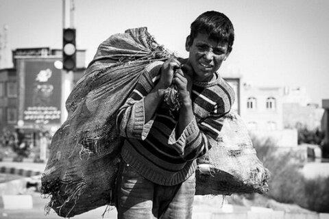 ۶۵ درصد کودکان کار خارجی مجوز اقامت ندارند /استفاده از این کودکان برای زبالهگردی