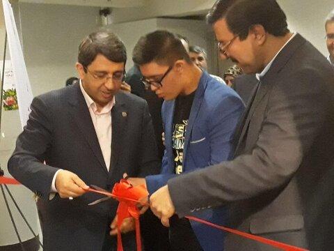 افتتاح نخستین نمایشگاه کشوری نقاشی افراد دارای معلولیت در فرهنگستان هنر