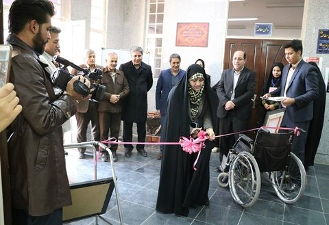 نجف آباد| اولین نمایشگاه تخصصی معلولان