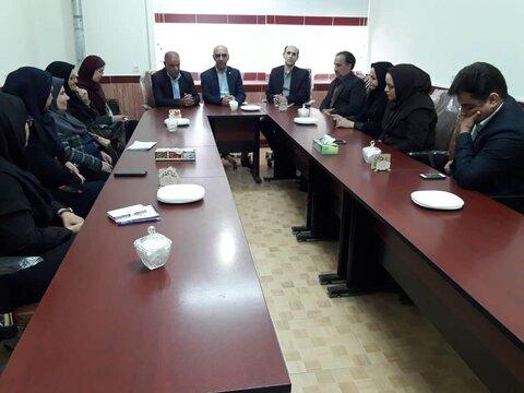 دیدار مدیر کل بهزیستی استان سمنان با مدیران مراکز غیر دولتی حوزه  توانبخشی