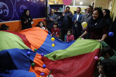 بازدید از مهد کودک نارنجی