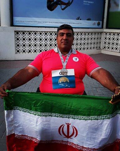 تهران | پیام تبریک مدیر بهزیستی شهرستان تهران به مدال آور مسابقات قهرمانی پارا المپیک جهان
