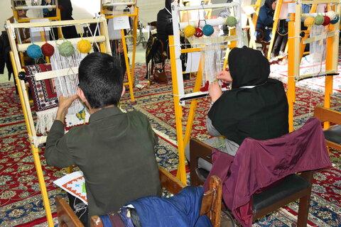 مسابقات مهارتی آزاد معلولین