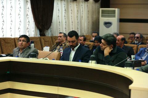 نشست صمیمی وزیر تعاون،کار و رفاه اجتماعی با نخبگان معلول