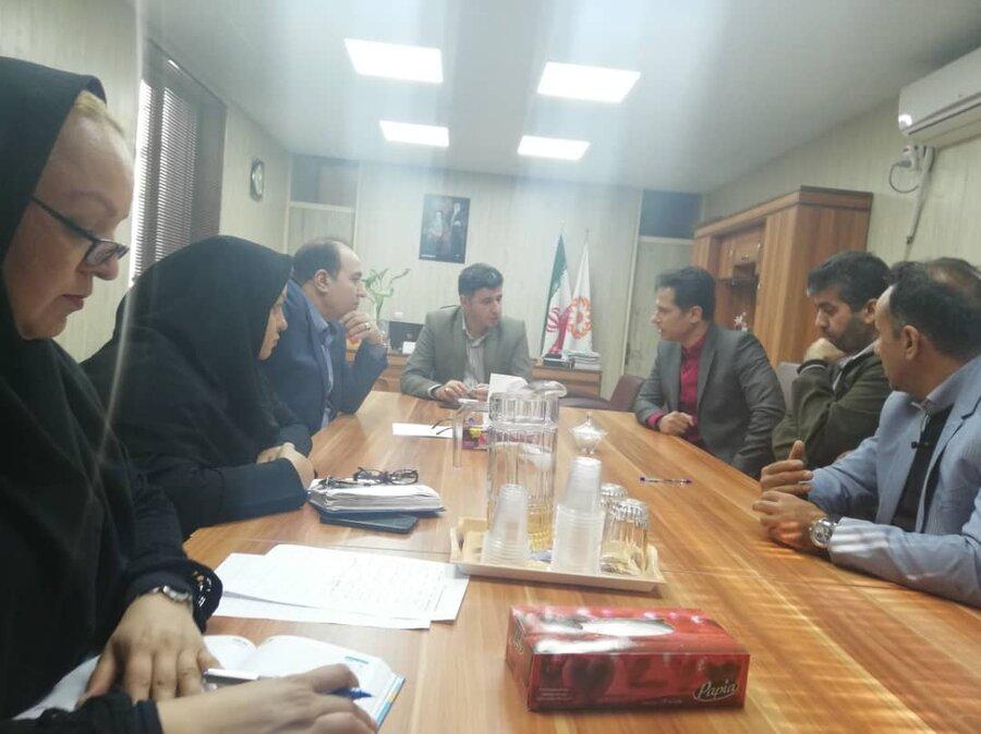شهریار | جلسه کارگروه مناسب سازی در بهزیستی شهریار برگزار شد