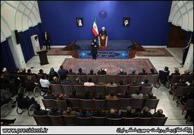 گزارش تصویری ا دیدار صمیمانه رئیس جمهور با نخبگان دارای معلولیت