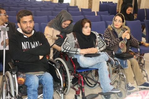 گزارش تصویری مراسم روز جهانی افراد دارای معلولیت