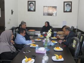 تقدیر سرپرست بهزیستی شهرستان بوشهر از کانون انجمن های  معلولین