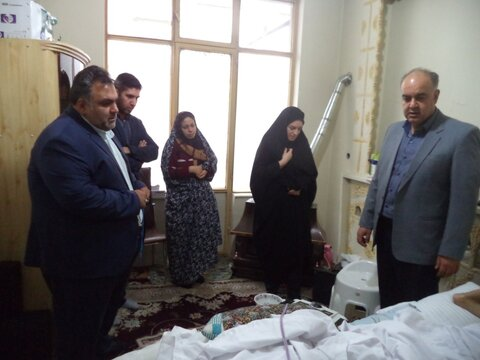 پاکدشت | دیدار معاون فرماندار با جامعه هدف بهزیستی  شهرستان پاکدشت