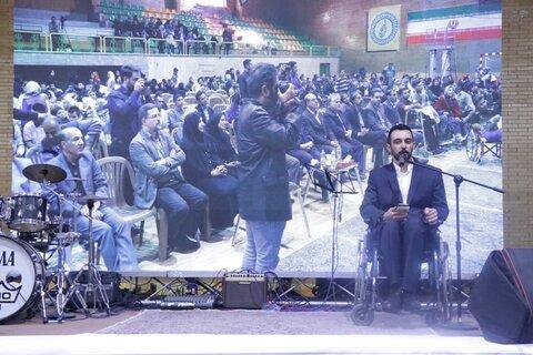 در آیین گرامیداشت روز جهانی افراد دارای معلولیت نمایندگان انجمن ها از مدیران دولت در استان کرمان   مطالبه گری کردند