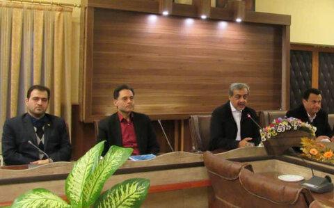 برگزاری چهارمین جلسه کمیته مناسب سازی در  فرمانداری لاهیجان
