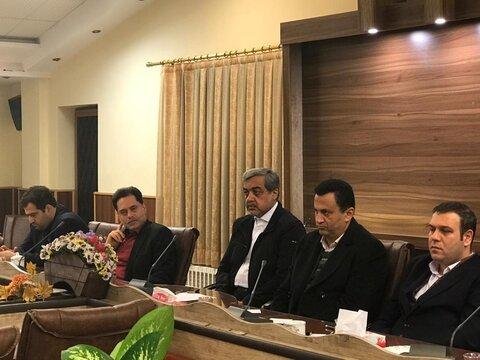 برگزاری سومین جلسه کمیته شورای سالمندان در فرمانداری لاهیجان