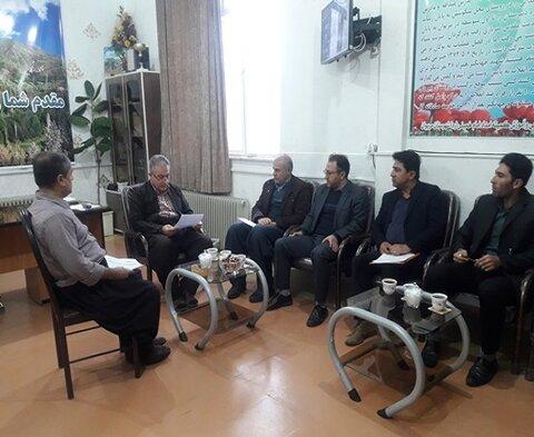 برگزاری جلسه ی ساخت مسکن مددجویان محروم روستایی در مریـوان