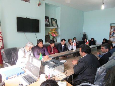 بازدید فرماندار ریگان از اداره بهزیستی به مناسبت روز جهانی معلولین