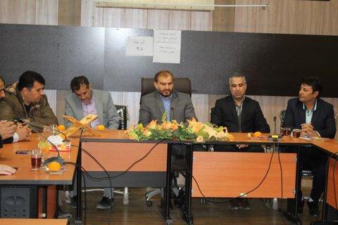 کبودراهنگ| بازدید فرماندار از اداره بهزیستی به مناسبت روز جهانی معلولین
