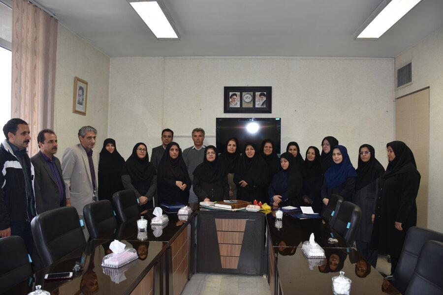 برگزاری مراسم روز گرامیداشت حسابدار در اداره کل بهزیستی استان کرمانشاه