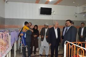 گزارش تصویری|بازدید معاون امور توانبخشی بهزیستی و هیئت همراه از مراکز بهزیستی استان سیستان و بلوچستان