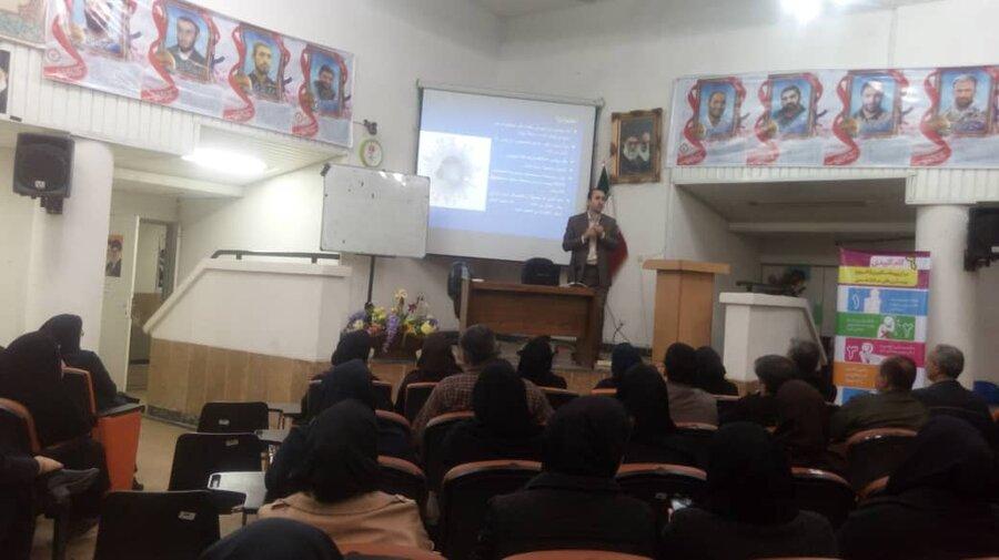 برگزاری دوره آموزشی پیشگیری و کنترل آنفولانزا