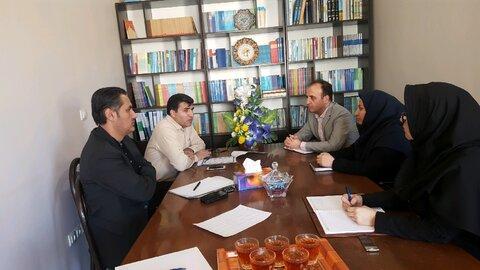 بهار |نشست سه جانبه در خصوص تشکیل تعاونی افراد تحت حمایت بهزیستی
