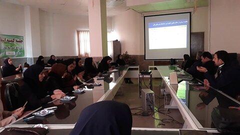 برگزاری کارگاه آموزشی پیشگیری از آنفلوانزا در بهزیستی بیجار