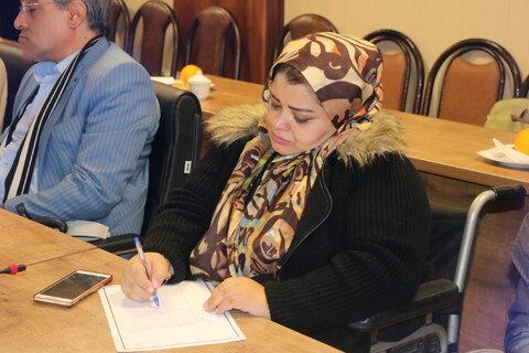 گزارش تصویری نشست دوره ای نمایندگان تشکل های معلولین کشور