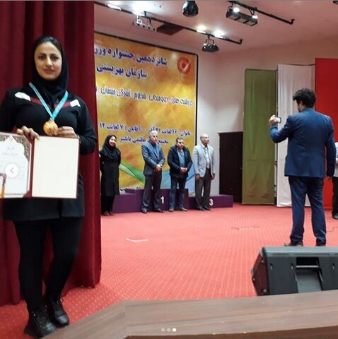 رتبه سوم شناگر خراسان شمالی در جشنواره فرهنگی ورزشی بانوان کشور