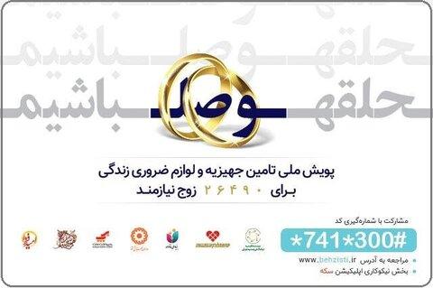 اجرای پویش «حلقه وصل باشیم» در استان چهارمحال و بختیاری