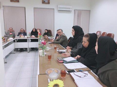 برگزاری اولین جلسه گروه کاری، اجتماعی و فرهنگی مربوط به کارگروه اجتماعی ،فرهنگی ، سلامت و امور زنان و خانواده