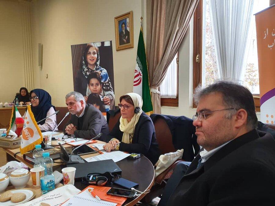 نشست کمیته شورای راهبردی ۲۰۱۹ با همکاری وزارت امور خارجه و دفتر صندوق جمعیت ملل متحد با حضور مسئولان بهزیستی