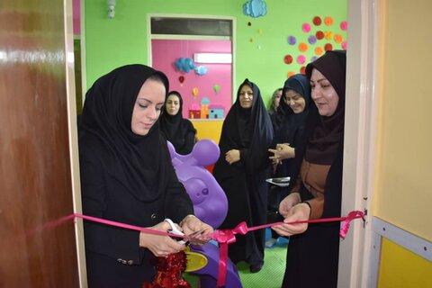 سمنان ا گزارش تصویری از افتتاح مهد کودک مهر مادری