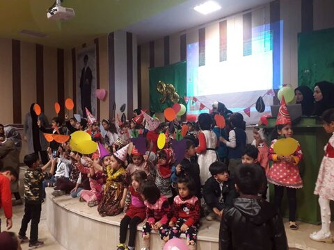 گزارش تصویری مراسم شب یلدا در مهدهای کودک ایلام