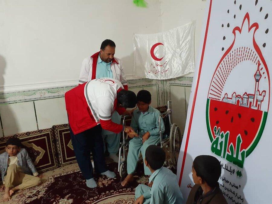 شب یلدا در کنار فرزندان و افراد دارای معلولیت تحت پوشش بهزیستی استان