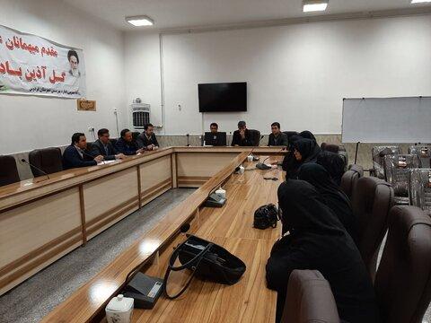 تفاهم نامه مشترک همکاری ادارات زیرمجموعه وزارت رفاه در شهرستان فردوس منعقد شد