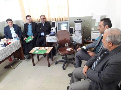 بازدید دبیر شورای هماهنگی مبارزه با مواد مخدر از کمپ های تحت نظارت بهزیستی  در دامغان