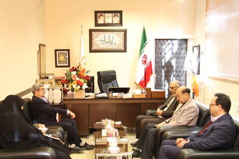 دیدار مدیرکل کمیته امداد امام خمینی(ره) با مدیرکل بهزیستی استان سمنان